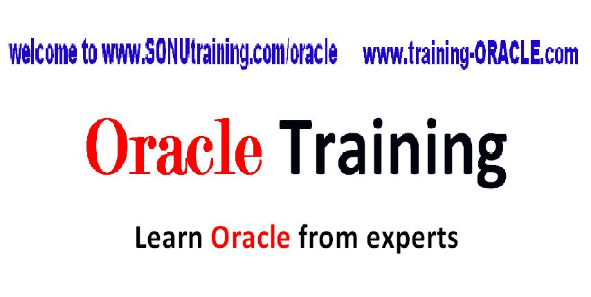 Oracle Training